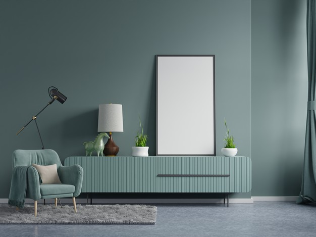 grøn rum